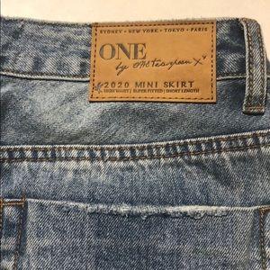 One Teaspoon 2020 High Waist Mini Skirt